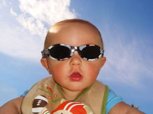 baby in shades | Pediatric Eye Exams In Warminster PA