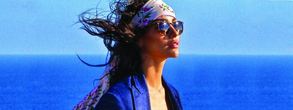 glasses summer ocean women
