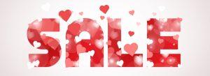 sale with hearts horizontal