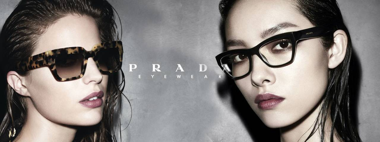 This image features Prada Frames
