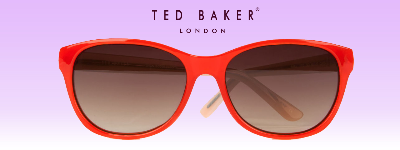 Ted Baker red sunglasses