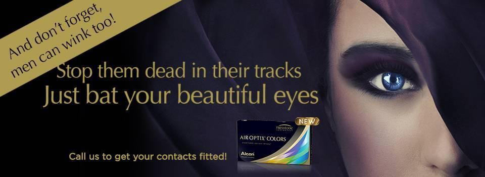 airoptix color contacts slideshow