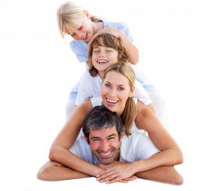 caucasian family pyramid - Treatment for Eye Injuries & Infections in North York, ON