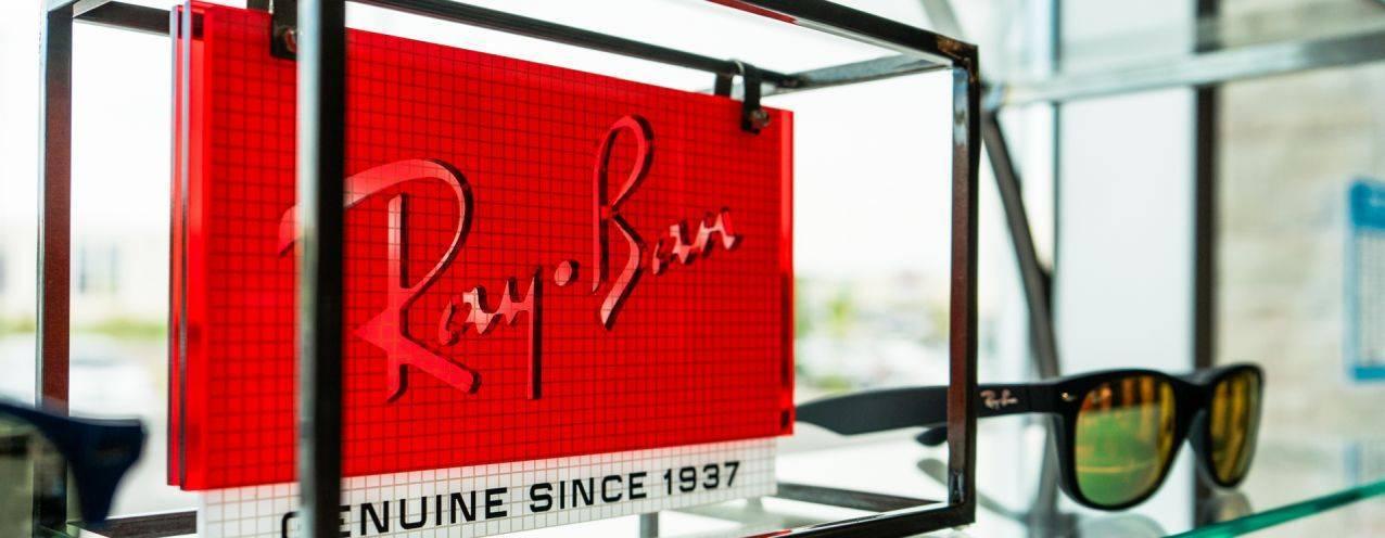 Rayban slide