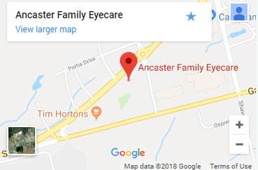 Map to Ancaster Family Eyecare