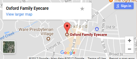 oxford family eye care map
