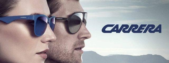 Eye doctor, man & woman wearing Carrera sunglasses in Phoenix, AZ