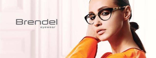 Optometrist, woman wearing Brendel eyeglasses in Phoenix, AZ