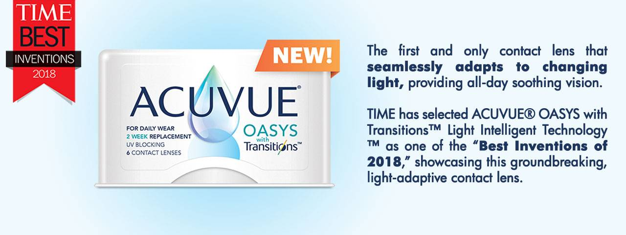 Acuvue Oasys with Transitions Contact Lenses in Phoenix, AZ