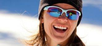 Woman wearing Oakley sunglasses - Houston, TX