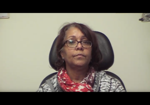 CV's vision therapy helped her vision after her car accident