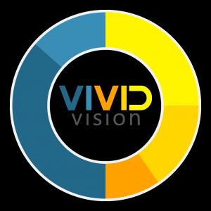 Vivid Vision Logo - With Circle