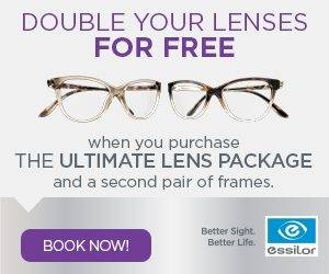 Essilor Ultimate Lens Package