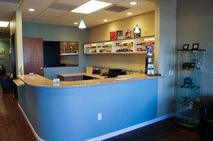 front desk eye care clinic