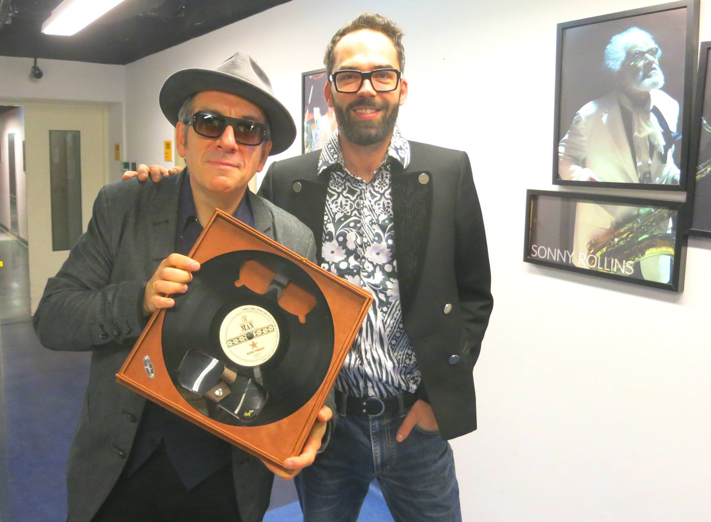 Elvis Costello & Vinylize Founder Zachary Tipton