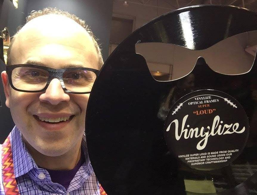 Dr. Barnstein and Vinylize! Super optical frames available in Timonium