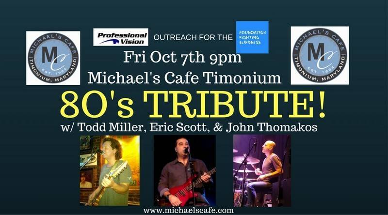 eye doctors in Timonium MD at a tribute concert