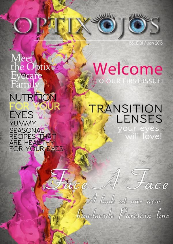 Optix Ojos Magazine Cover