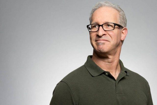 Middle-aged man wearing progressive lenses in Boca Raton