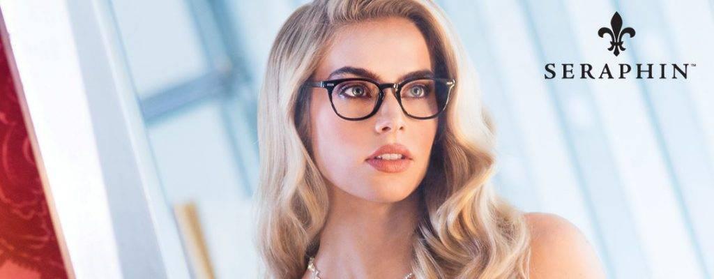seraphin eyeglass frames and lenses in lakeville
