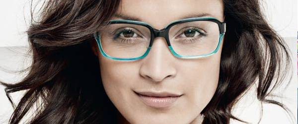Woman wearing Prodesign glasses