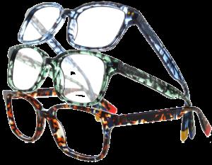 Glasses Cut Out BlueSky