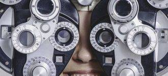 Phoropter, Used for eye exams and eyeglasses in South Houston