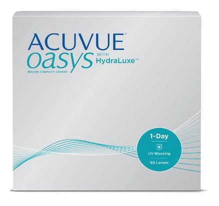 Acuvue Oasys Daily Contact Lenses with HydraLuxe in Georgetown, KY