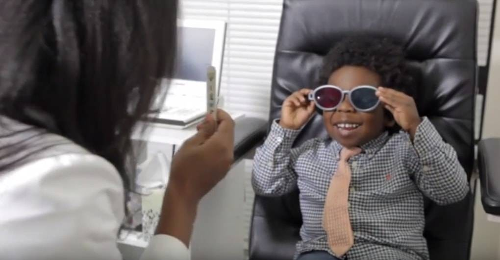 Kids vision screening