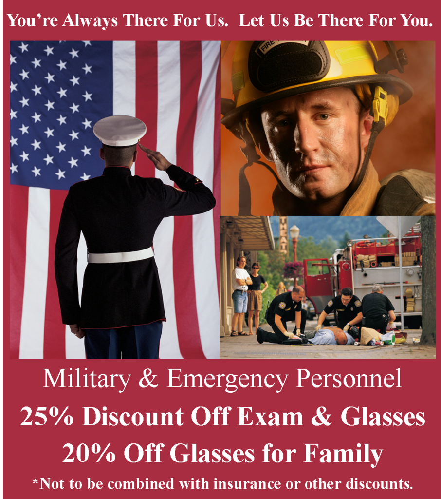 1 Military discount