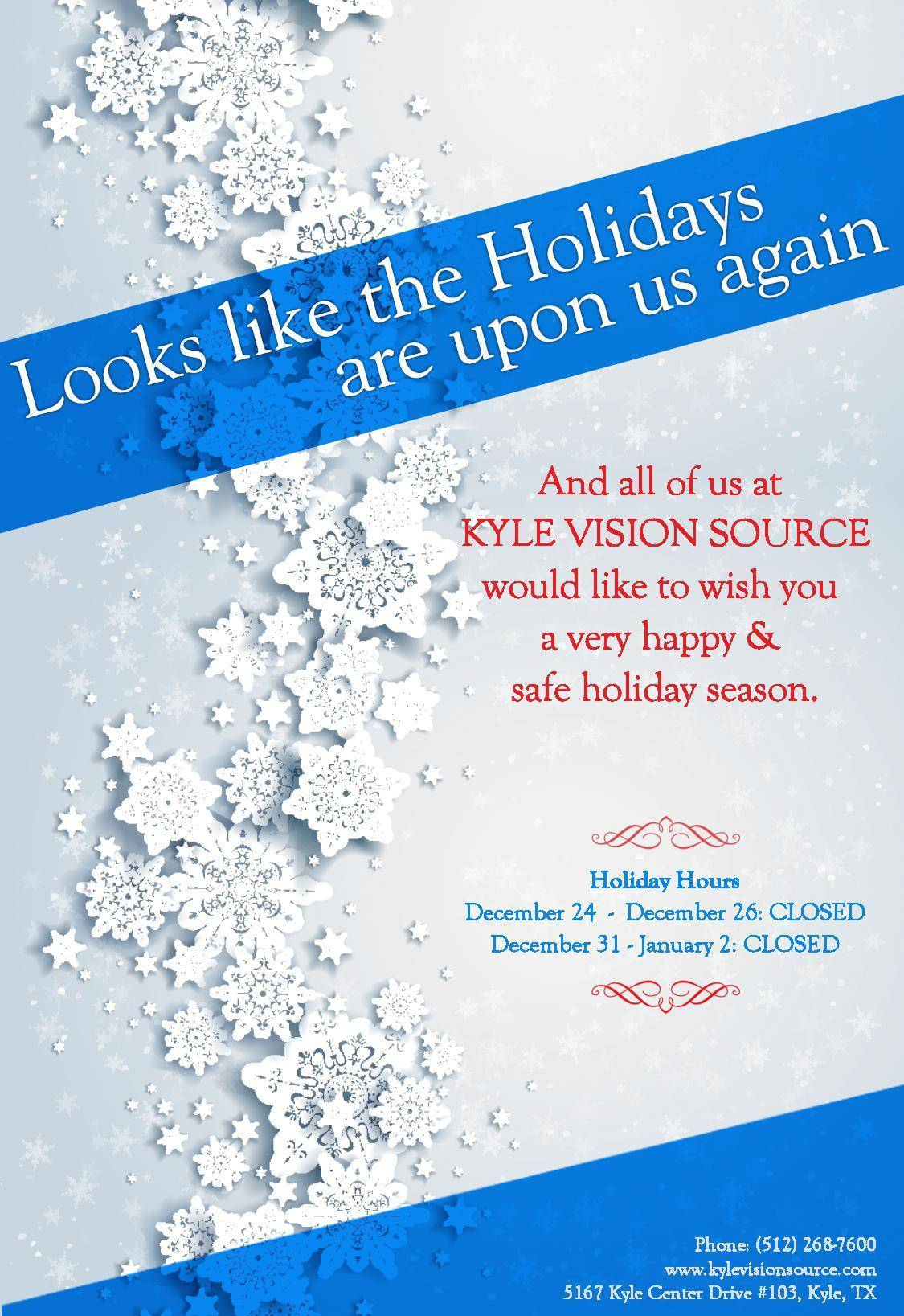 HolidayHoursSnowflake PrintMe page 001