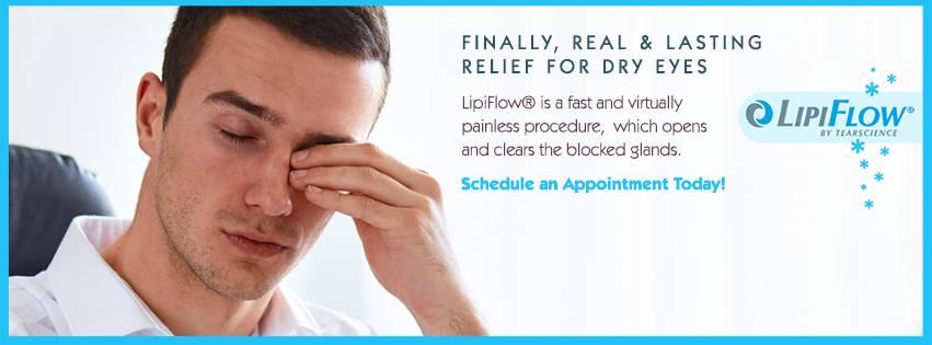dry eye lipiflow in Dallas, TX