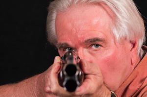 proper sight shooting pistol