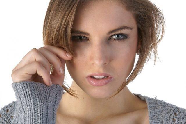 Eye Exam,Eye Allergies with Red Hair Woman in Wellington,CO