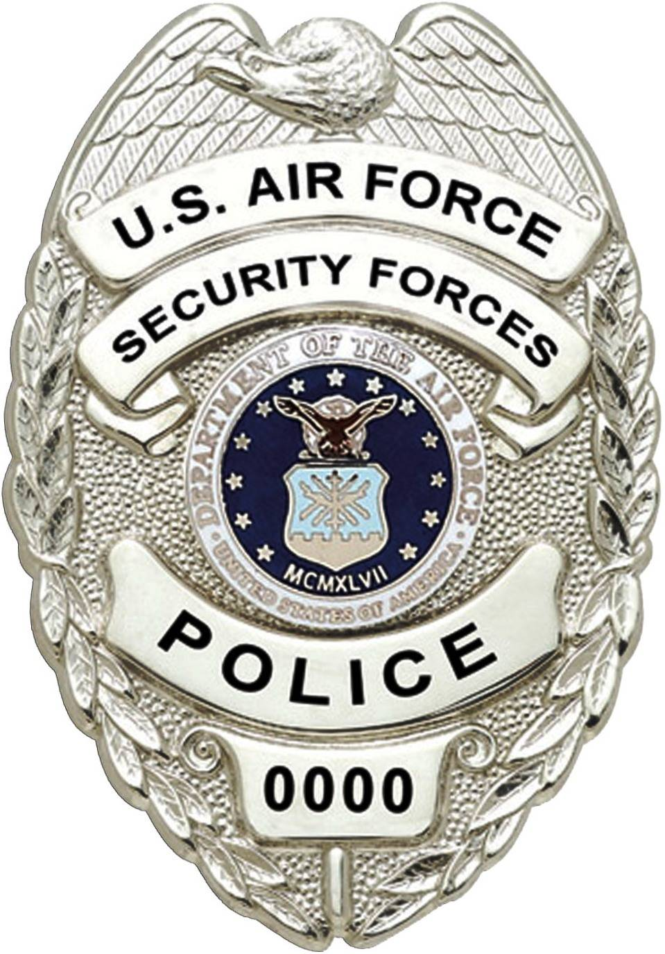 US Air Force Civilian Police badge