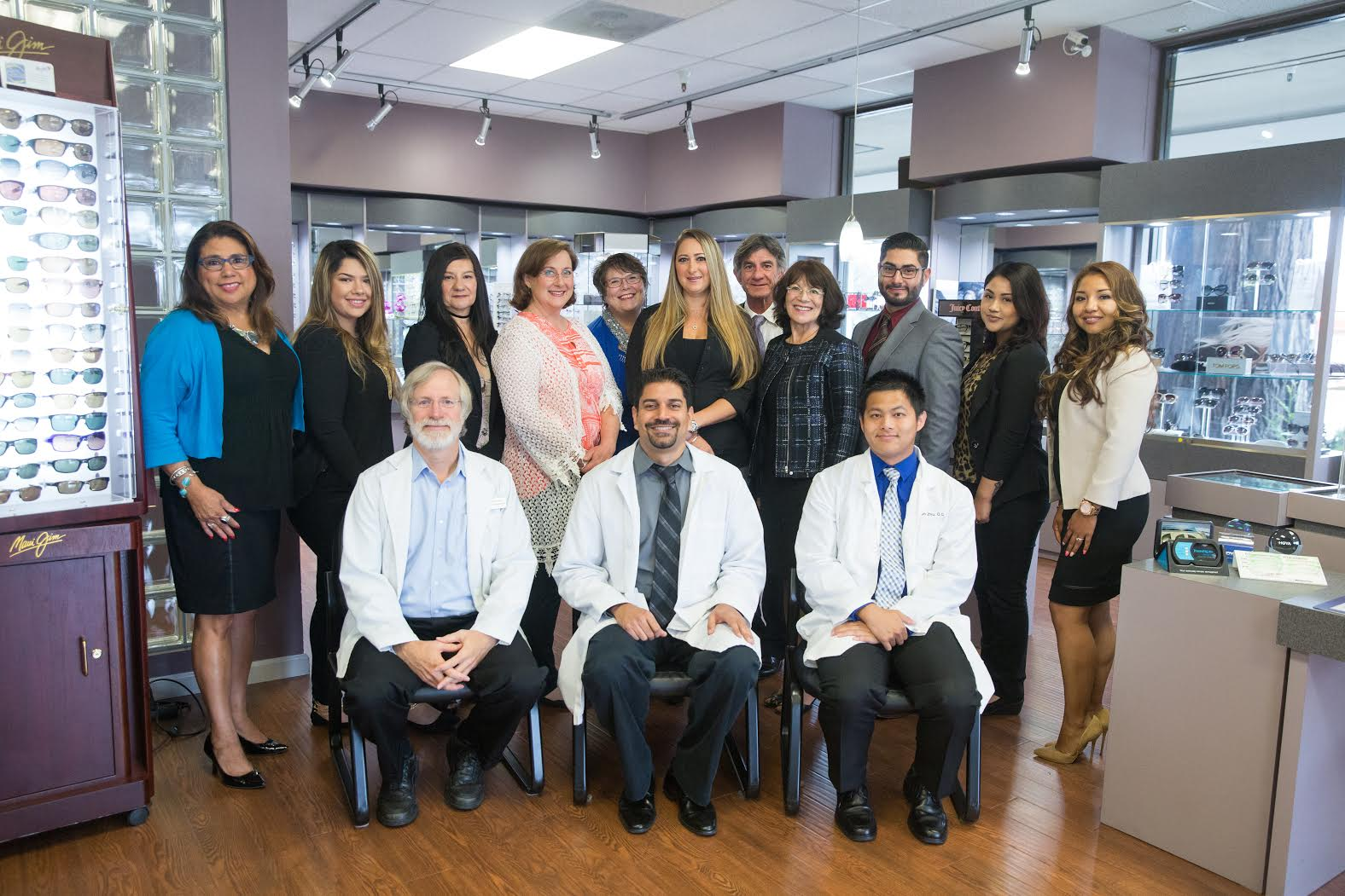 optometrists and staff at InSight Eyecare Optometry in Capitola and Scotts Valley