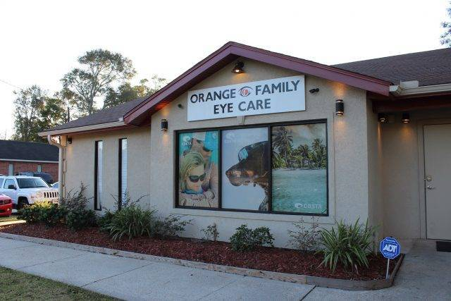 building side angle orange family eye care