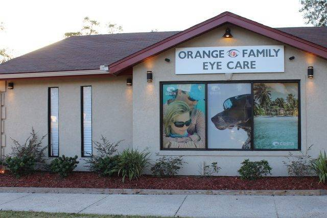 building side orange family eye care