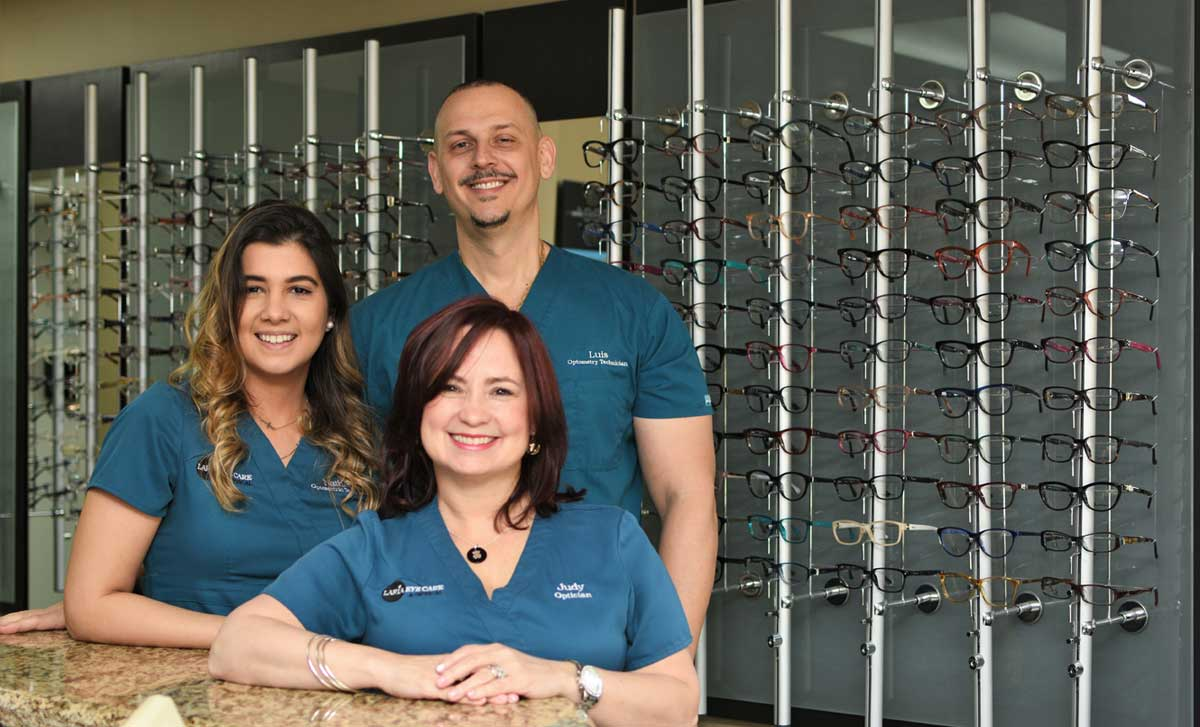 Staff at Laria Eye Care