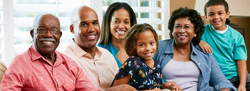 African american family in Glassboro, NJ
