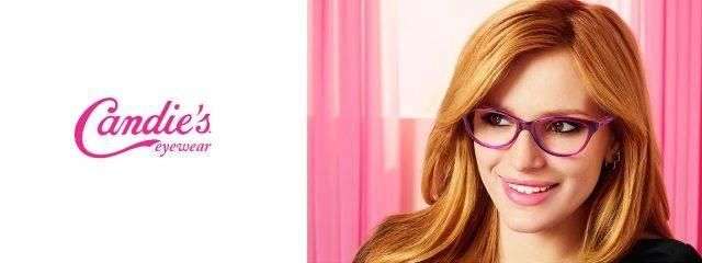 Eye doctor, woman wearing Candie's eyeglasses in Glassboro, NJ