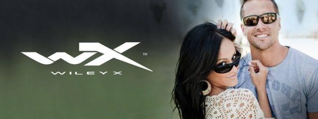 Optometrist, man & woman wearing Wiley X sunglasses in Glassboro, NJ