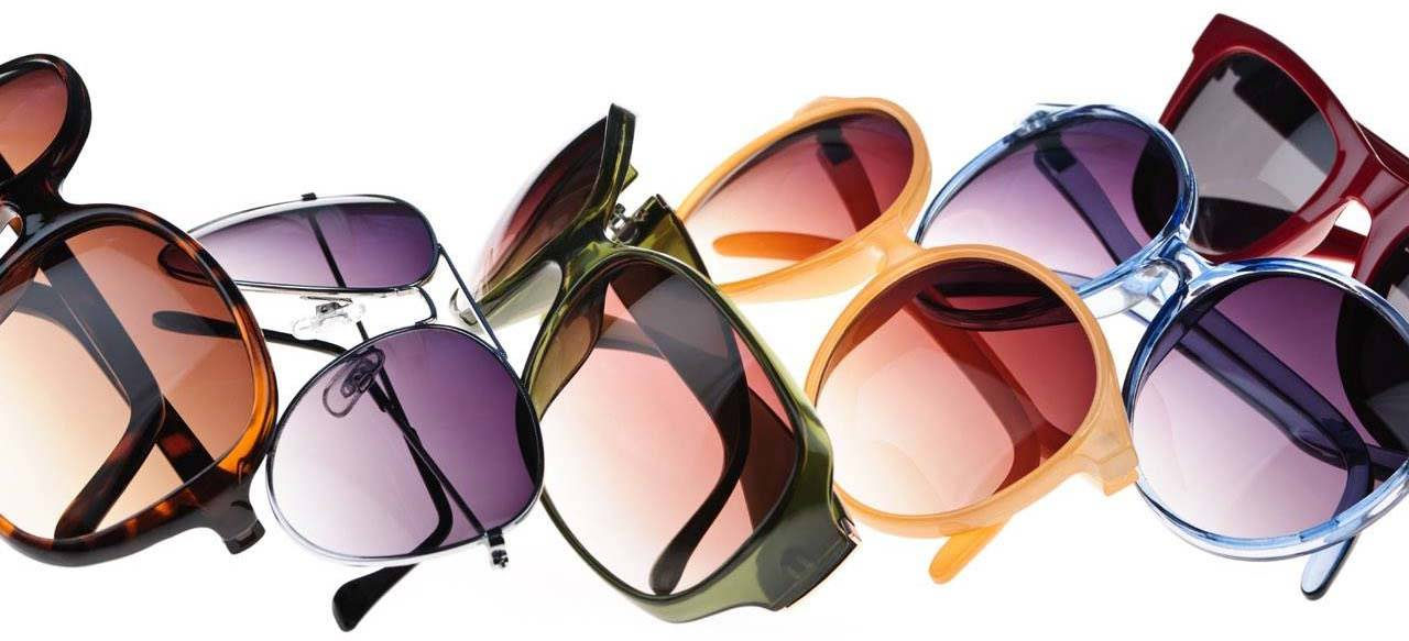 various sunglasses