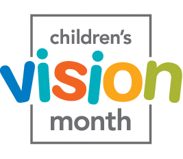 childrens vision month logo