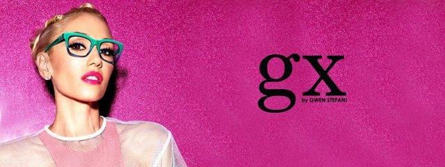Eye doctor, woman wearing Gx by Gwen Stefani eyeglasses in Lantana, FL