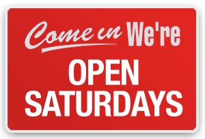 Sign That Our Huntington Beach Eye Clinic is Open Saturdays