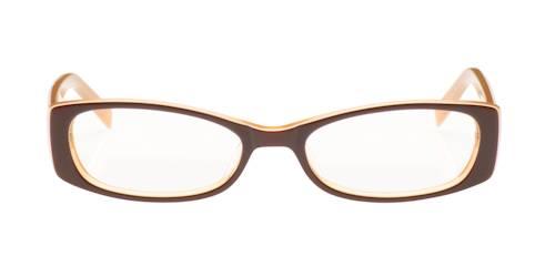 cool brown rectangular frames