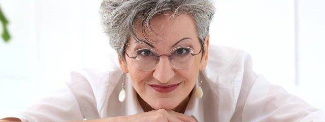 Eye care, elderly woman in glasses in St. Louis & St. Charles, MO