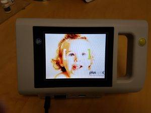 baby autorefractor at Grand River Eye Care Waterloo ON