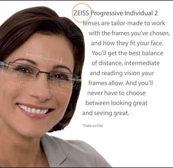 ZEISS Individual Custom Lenses